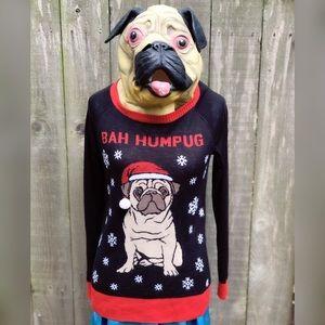 Perfect, WELL WORN, Bah Humpug sweater!!